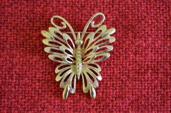 Monet Butterfly Brooch in Aurora, Illinois